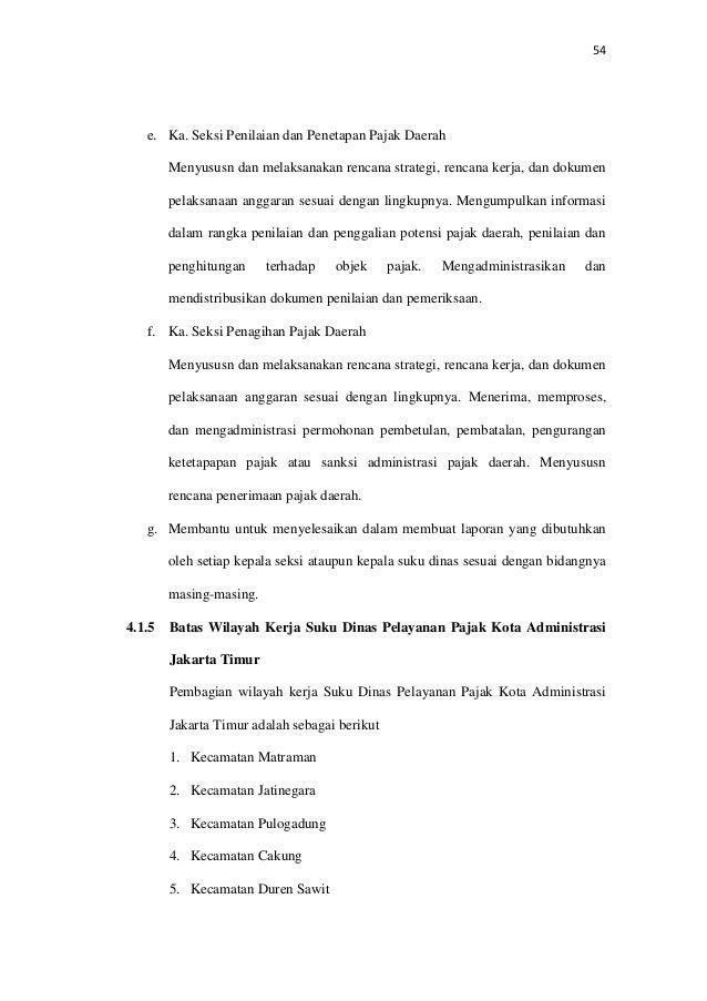 Analisis Kontribusi Pajak Hotel Pajak Restoran Pajak Hiburan Pajak