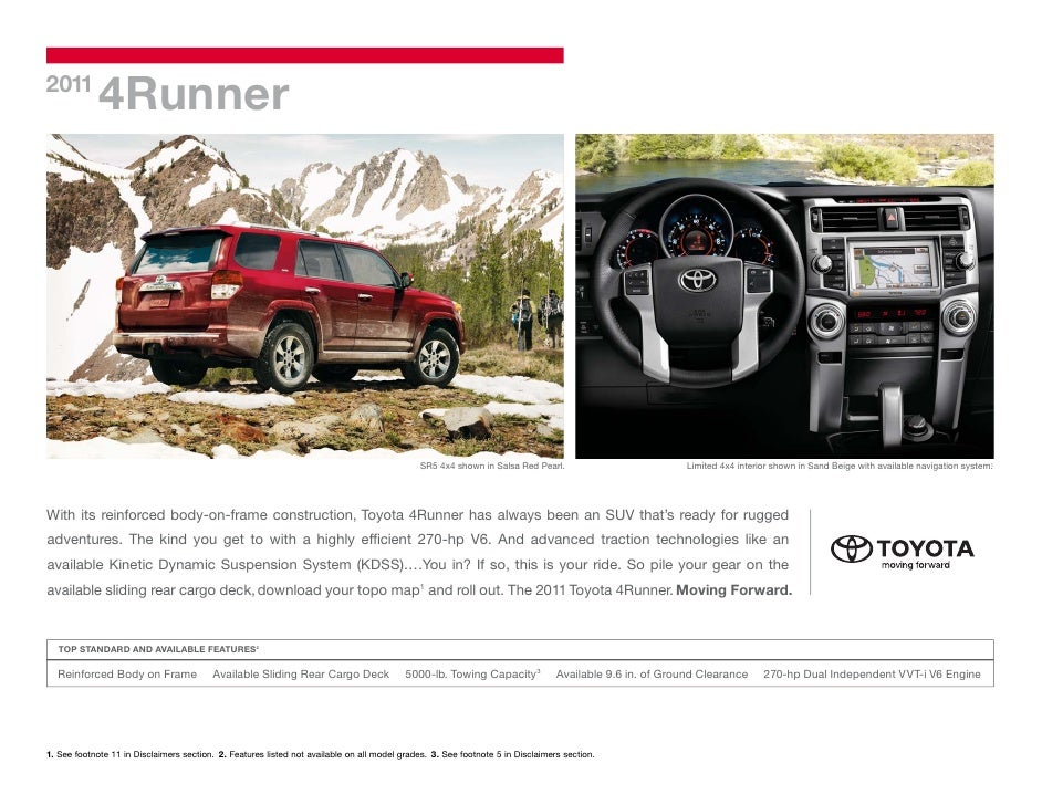 2011 Toyota 4runner Tampa Florida Toyota Dealer
