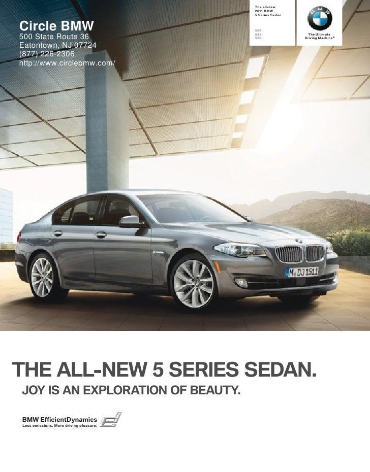 2011 BMW 5 Series Sedan Circle BMW NJ