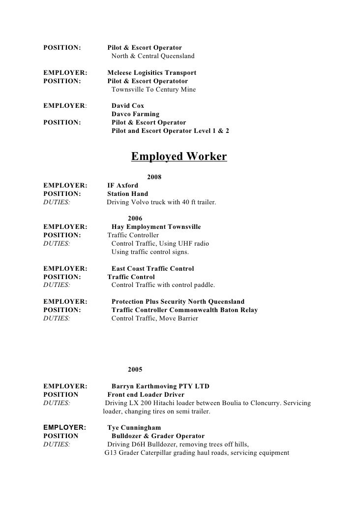 Truck Loader Resume Nmdnconference Example Resume And Cover