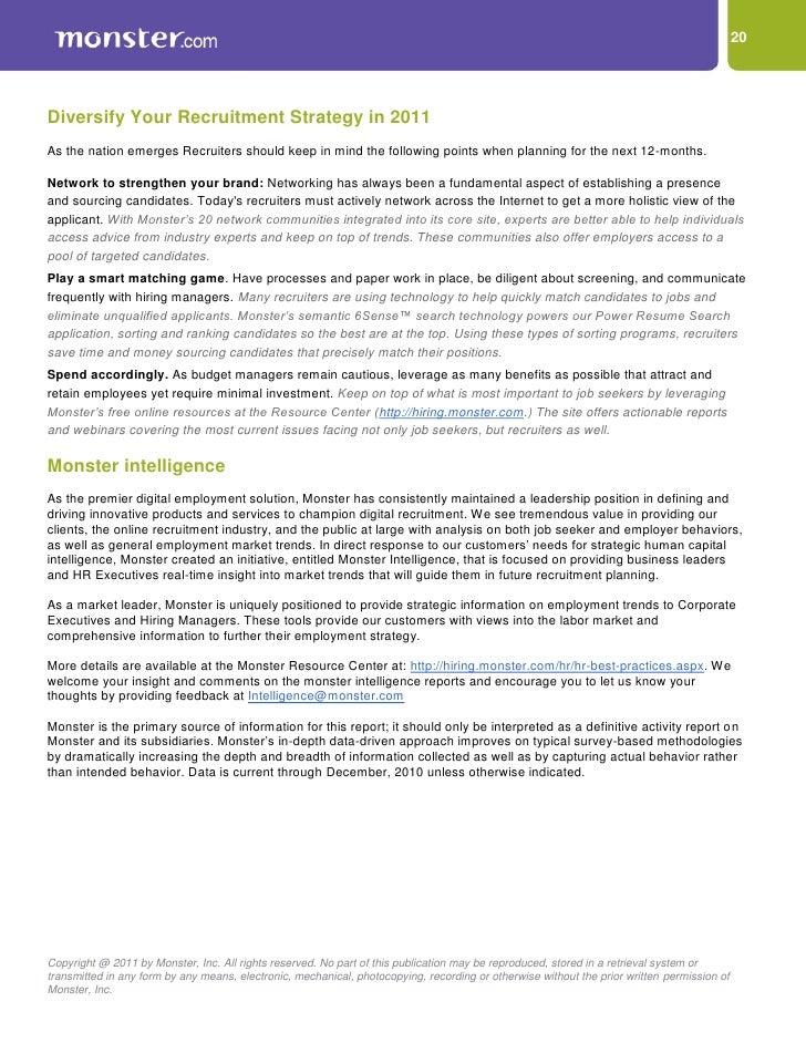 20 - Job Market 2011 Current Future Job Market Trends