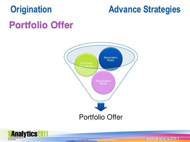 Origination                                                      Advance StrategiesPortfolio Offer                        ...