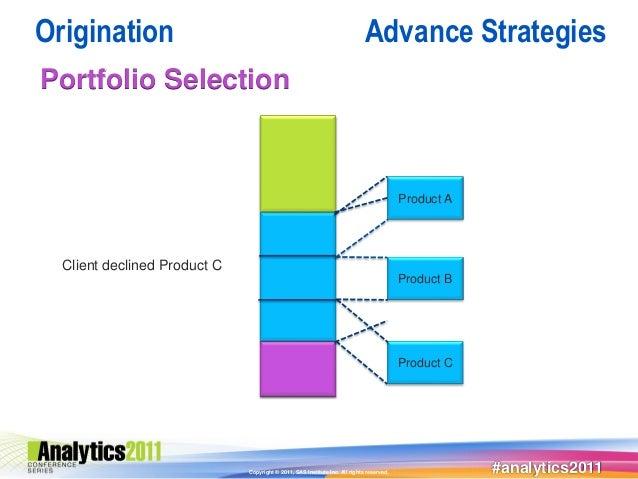 Origination                                                                  Advance StrategiesPortfolio Selection        ...