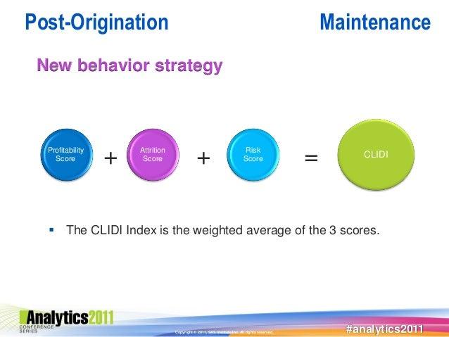 Post-Origination                                                                                  Maintenance New behavior...