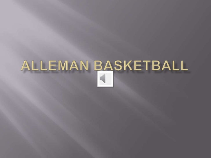 Alleman basketball<br />2011<br />