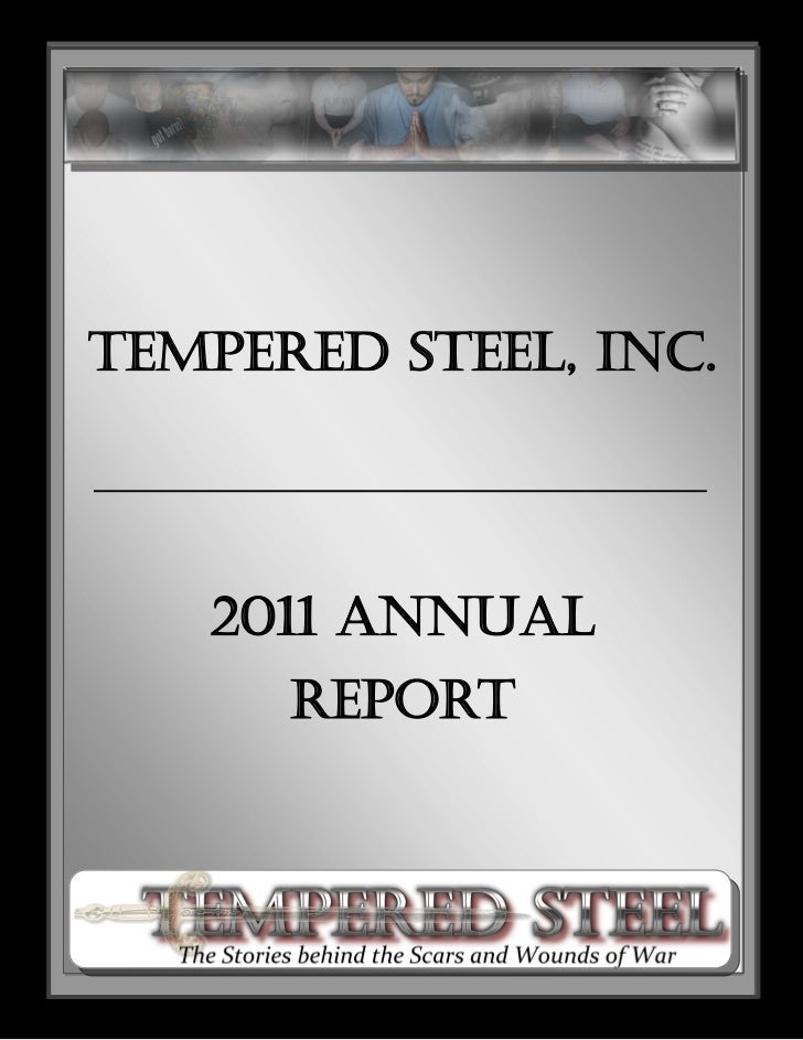Tempered Steel, Inc.   2011 Annual      Report