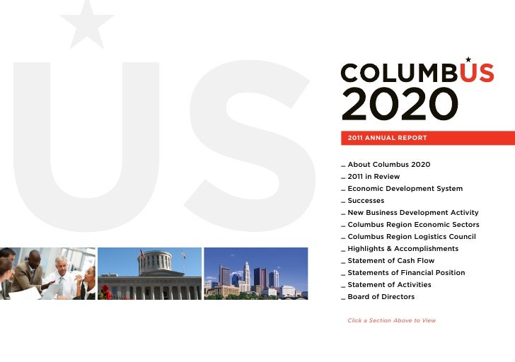 2011 ANNUAL REPORT_ About Columbus 2020_ 2011 in Review_ Economic Development System_ Successes_ New Business Development ...