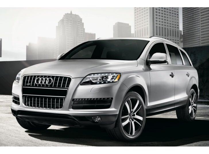 2011 Audi Q7 For Sale In Virginia Beach VA | Checkered Flag Audi