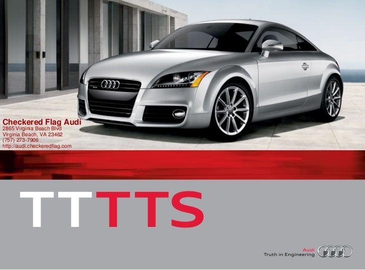 Audi TT For Sale In Virginia Beach VA Checkered Flag Audi - Checkered flag audi