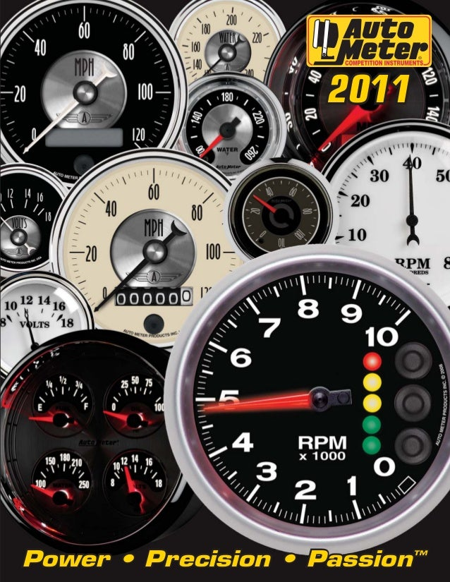 "2011 auto meter hp catalog w links 2011power • precision • passionâ""¢"