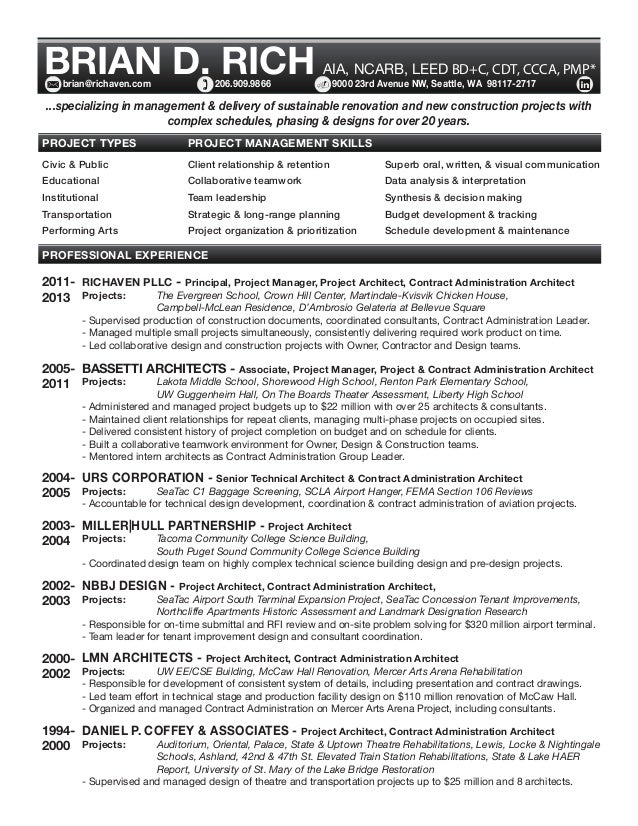 Brian Rich's Resume & Portfolio