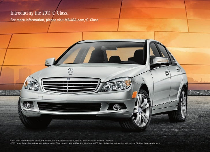 2011 mercedes benz c 300 sport sedan silver star montreal for Silver star mercedes benz montreal