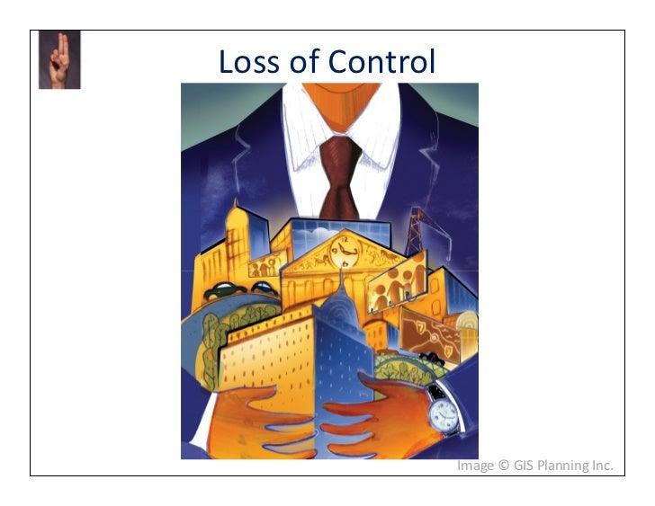 Loss of Control                  Image © GIS Planning Inc.