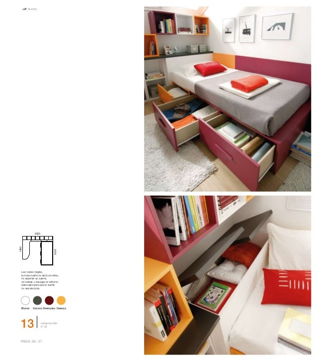 Cat logo de dormitorios juveniles slang for Catalogo de habitaciones juveniles