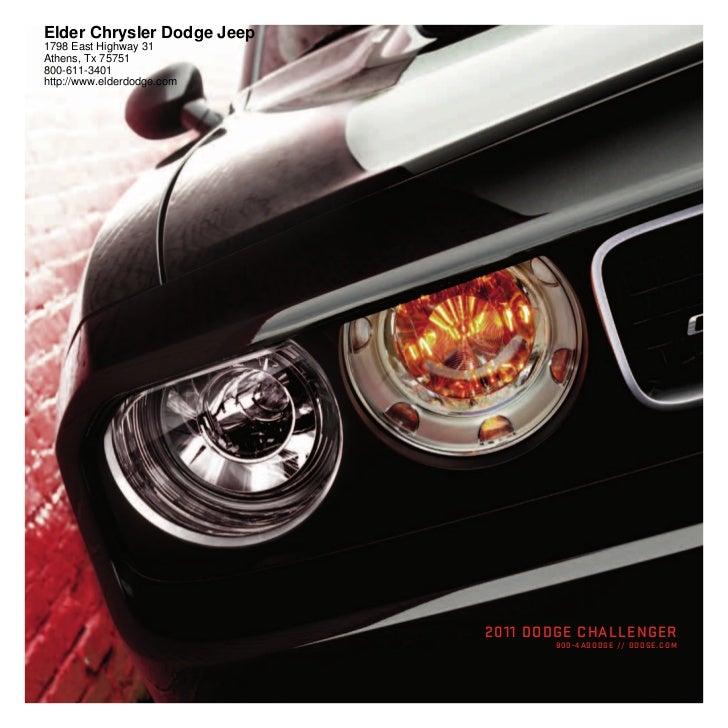 2011 Dodge Challenger For Sale Near Tyler TX