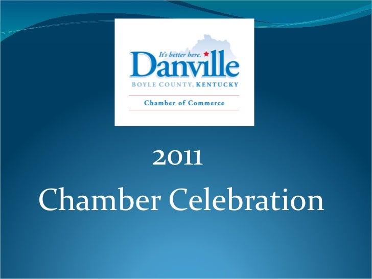2011  Chamber Celebration