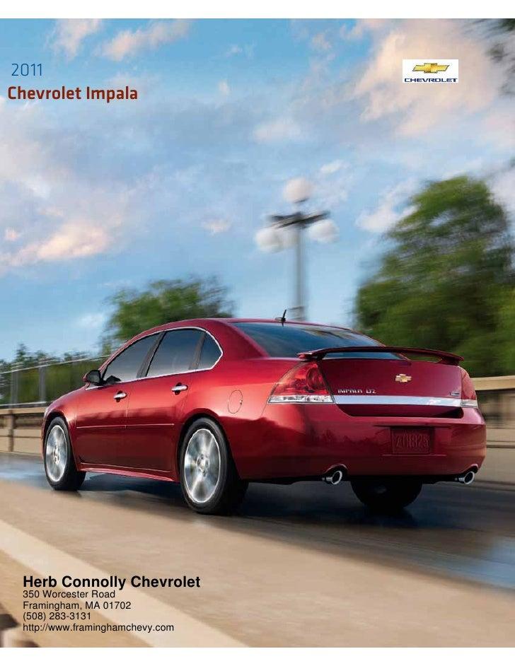 Herb Connolly Chevy >> 2011 Chevrolet Impala - Herb Connolly Chevrolet Framingham MA