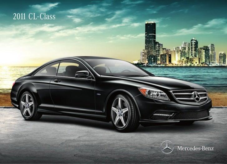 2011 CL-Class