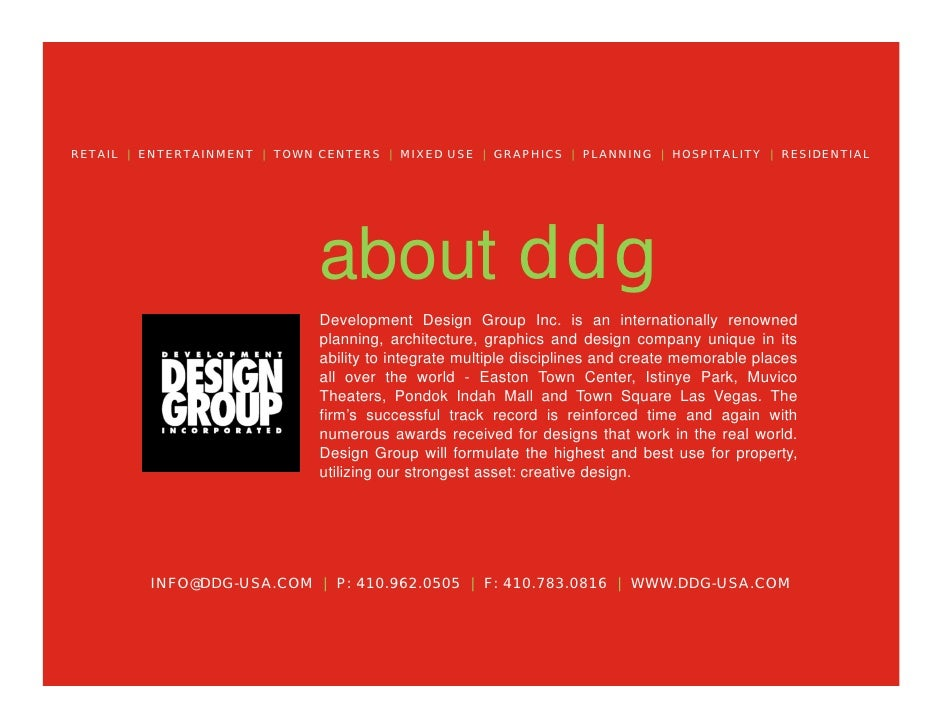 Development Design Group Intro