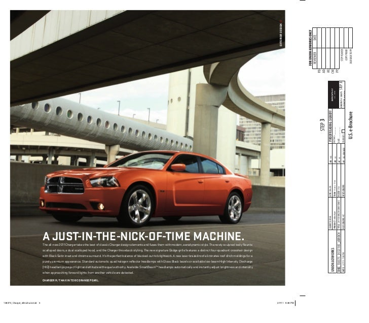 2011 Dodge Charger Brochure Brought To You By Your Mid