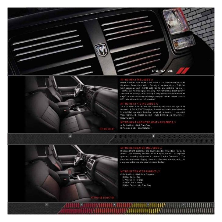 2011 Dodge Nitro E Brochure