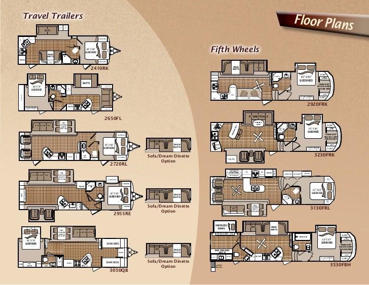 Komfort Travel Trailer Floor Plans Thefloors Co