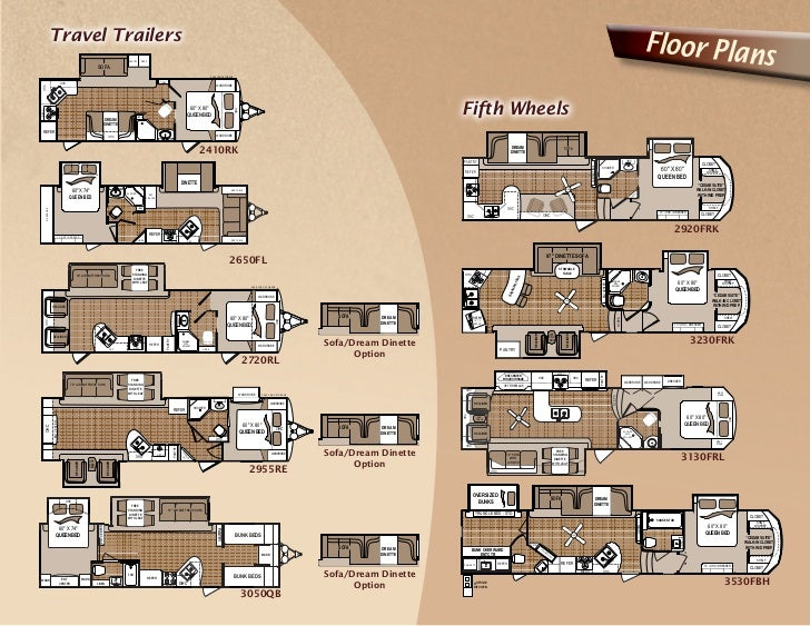 2011 Dutchmen Komfort Fifth Wheels And Travel Trailers on 24 X 40 House Floor Plans