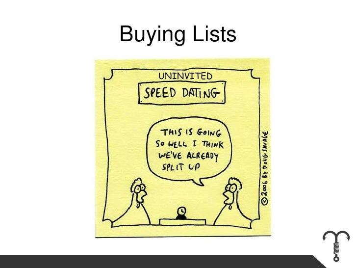 Buying Lists<br />UNINVITED<br />
