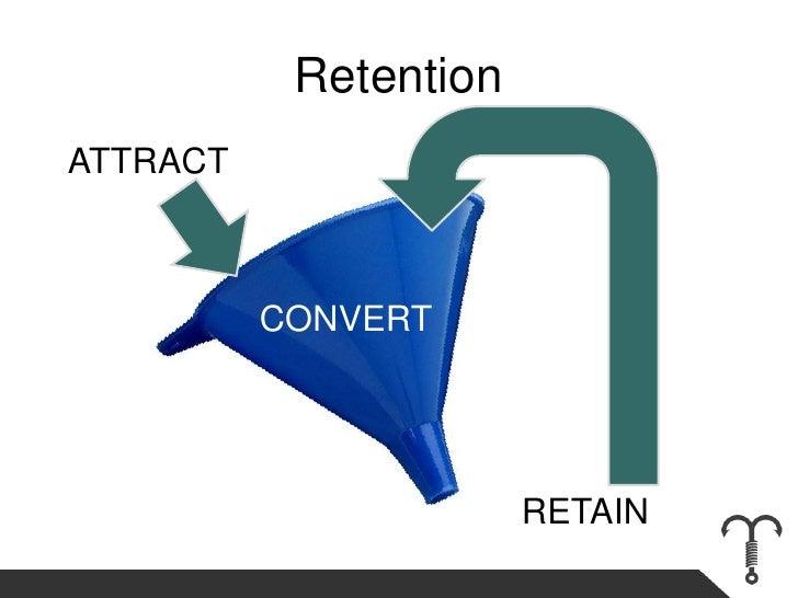 Retention<br />ATTRACT<br />CONVERT<br />RETAIN<br />