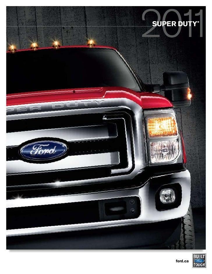 SUPER DUTY               ®     ford.ca