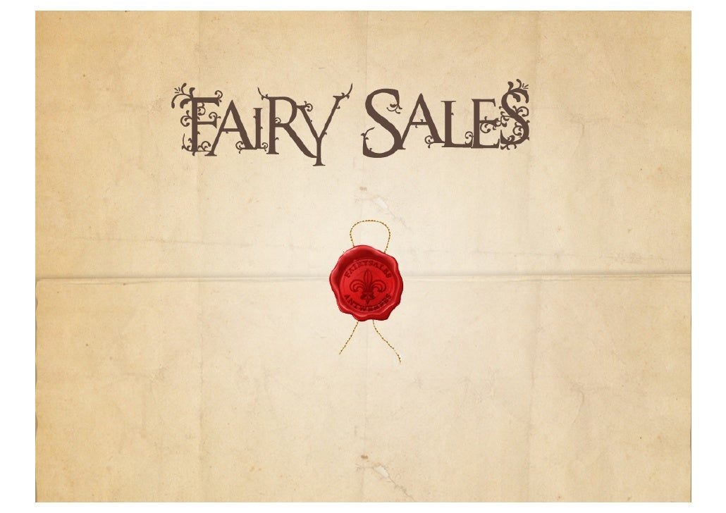 Fairy Sales