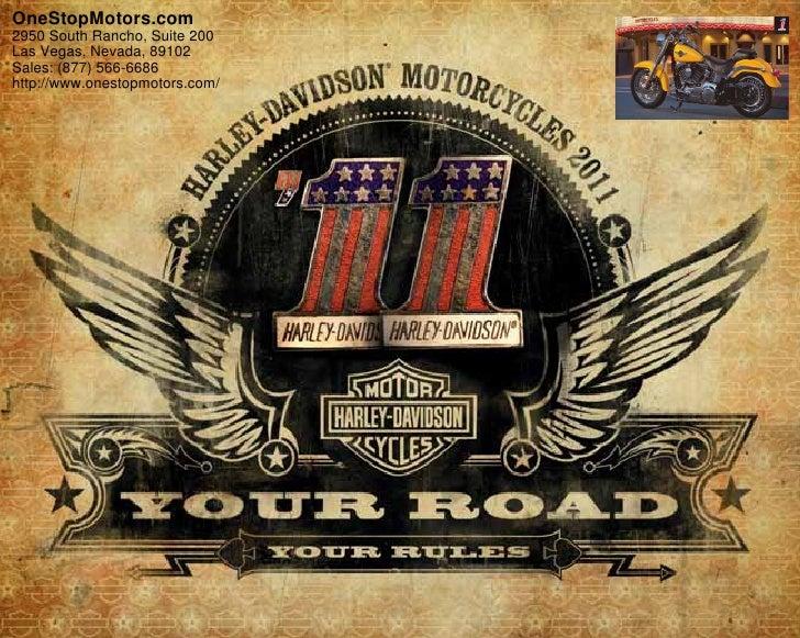2011 Harley Davidson Fat Boy – OneStopMotors.com Las Vegas, NV