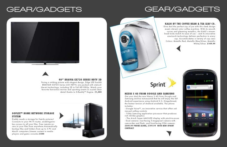 2011 Father's Day Gift Guide