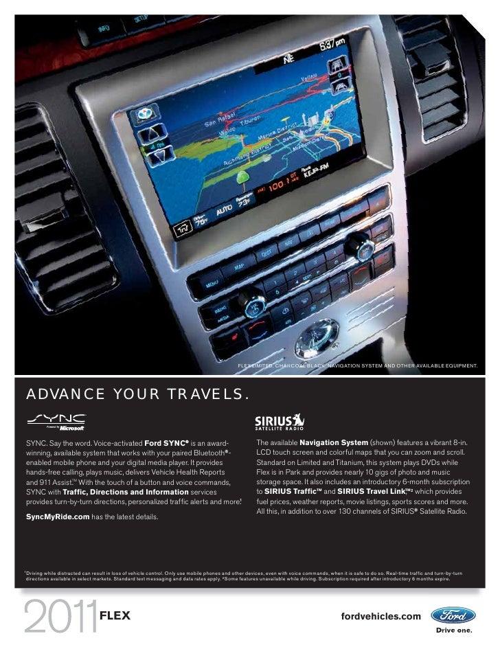 2011 ford flex lamoureux ford ma rh slideshare net Ford Escape Navigation System Manual Ford Focus Navigation System