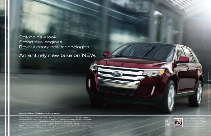 Striking new look.Smart new engines.Revolutionary new technologies.An entirely new take on new.                           ...