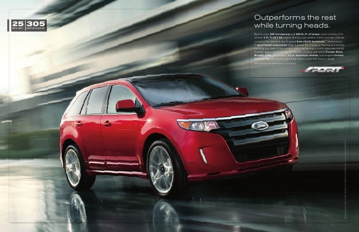 Outperforms the rest25 305MPG HWY 1   BEST-IN-CLASS HP                               while turning heads.                 ...