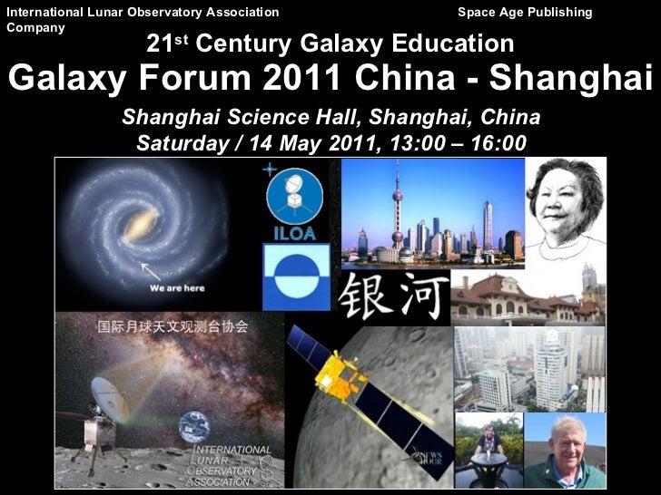 International Lunar Observatory Association    Space Age PublishingCompany                     21st Century Galaxy Educati...