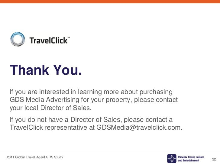 Global Travel Agent Gds Media Research Study