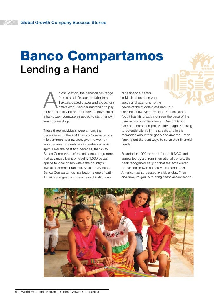 the banco compartamos ipo Compartamos ipo was a huge success in financial markets but majority of the shares went to hedge fund managers and commercial investors rather than the socially-responsible investment entity according to mfi solutions and la colmena milenaria, the lending capacity of the bank increased after the ipo, though the interest rates charged went .