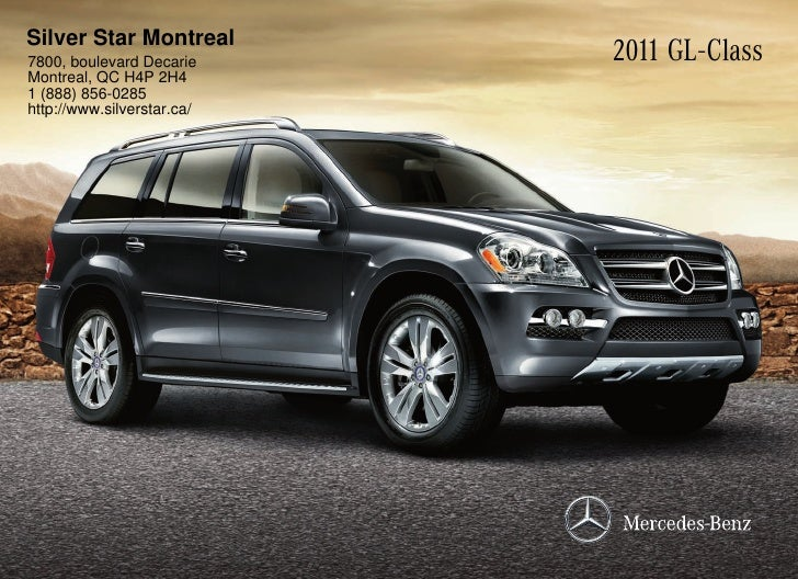 2011 mercedes benz gl550 suv silver star montreal qc canada for Mercedes benz silver star