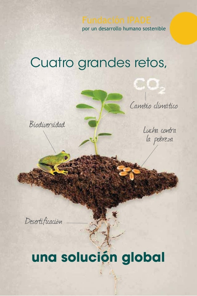 Biodiversidad Cambio climático 'HVHUWL¿FDFLyQ /XFKD FRQWUD la pobreza Cuatro grandes retos, una solución global