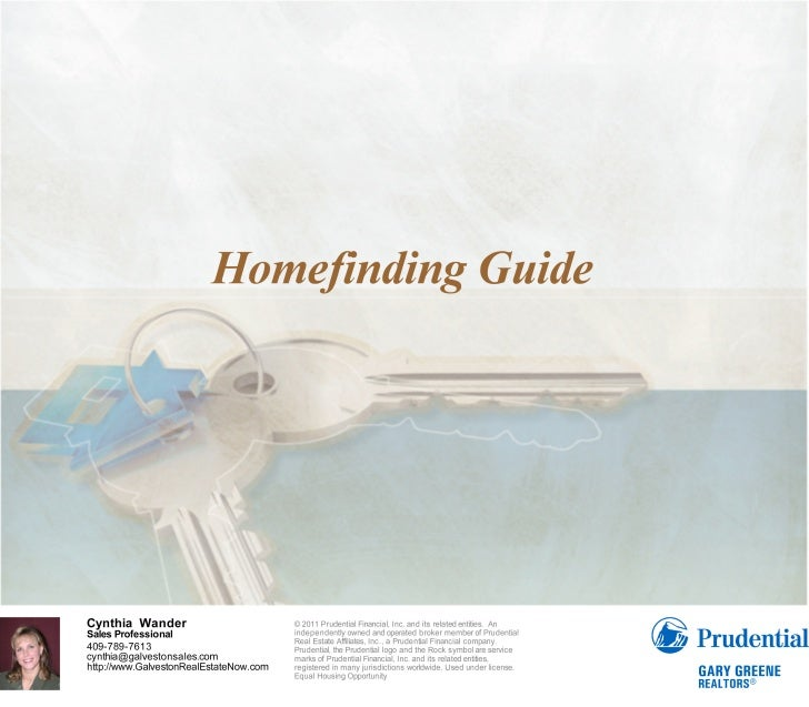 2011 Homefinding Guide