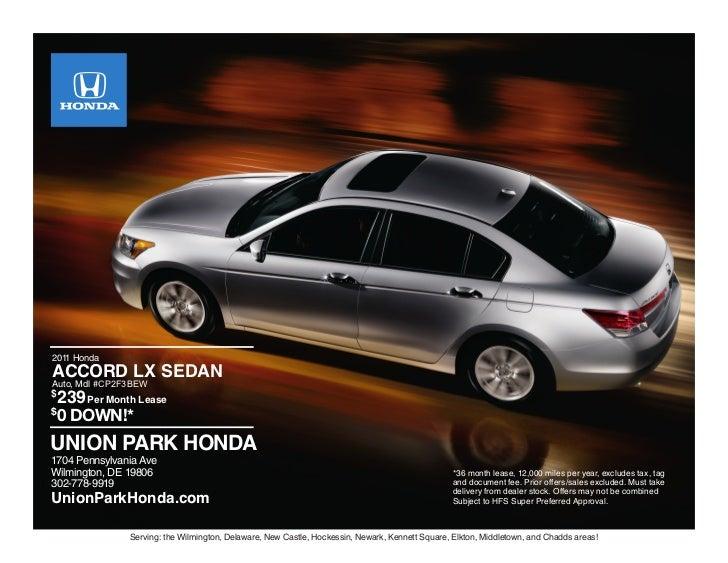 2011 Honda Accord Wilmington DE