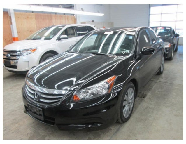 2011  honda  accord 4 c  ex l - 37,530 miles