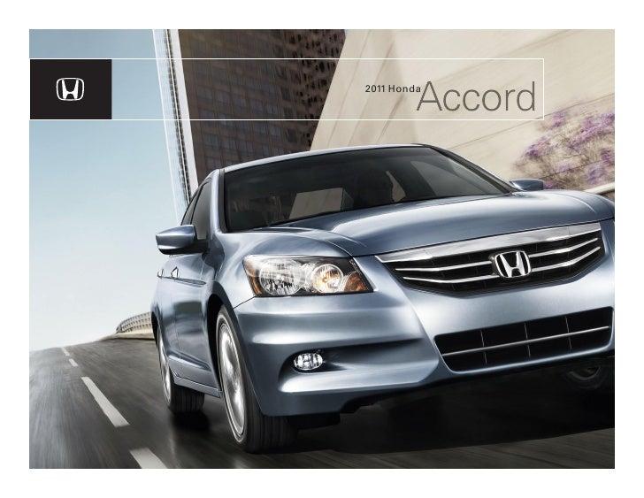 Accord 2011 Honda
