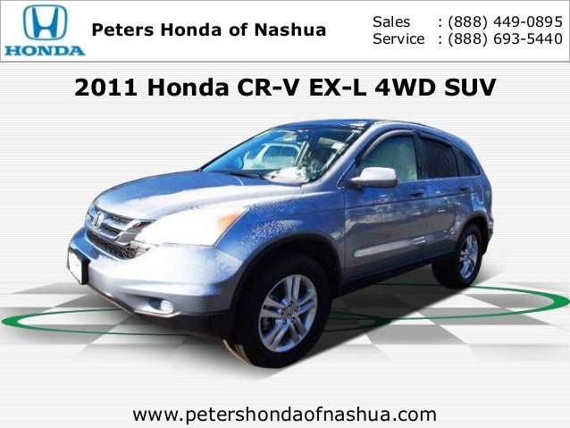 Exceptional Sales : (888) 449 0895 Peters Honda Of Nashua Service : (888 ...