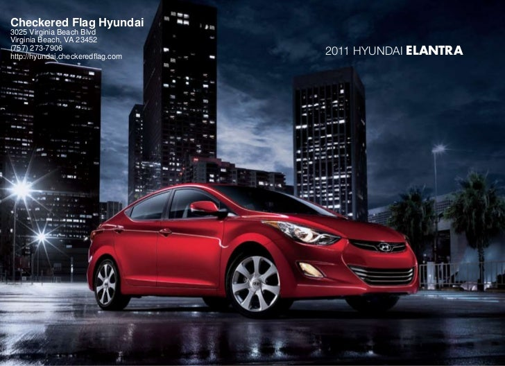 Checkered Flag Hyundai3025 Virginia Beach BlvdVirginia Beach, VA 23452(757) 273-7906http://hyundai.checkeredflag.com      ...