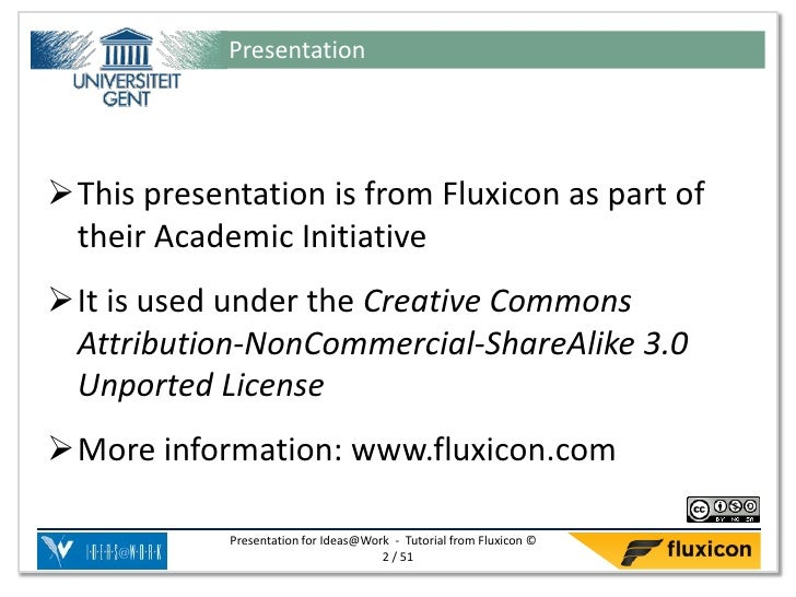 PresentationThis presentation is from Fluxicon as part of their Academic InitiativeIt is used under the Creative Commons...