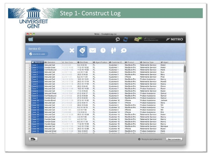 Step 1- Construct LogPresentation for Ideas@Work - Tutorial from Fluxicon ©                         20 / 51
