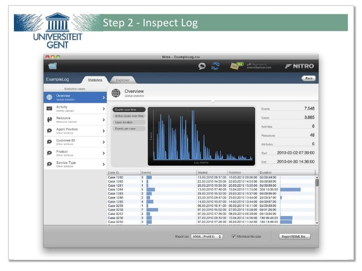 Step 2 - Inspect LogPresentation for Ideas@Work - Tutorial from Fluxicon ©                         22 / 51